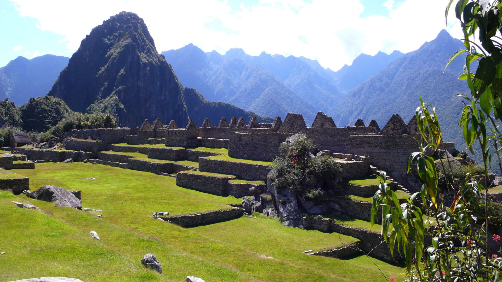 Machu Picchu. Plaza Mayor
