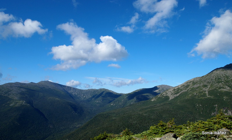 Ruta por White Mountains National Forest.